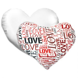 Cuscino a cuore Mille Love