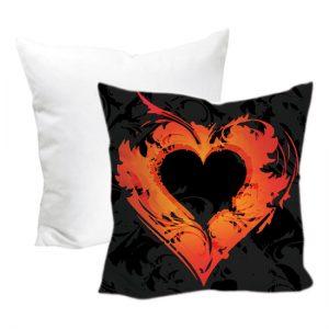 Cuscino San Valentino modello Cuore nero