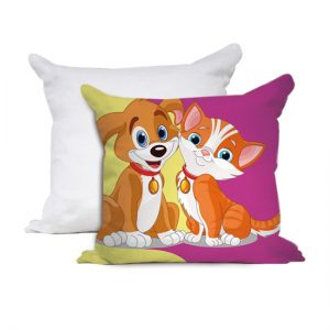 Cuscino bimbi Cane e Gatto