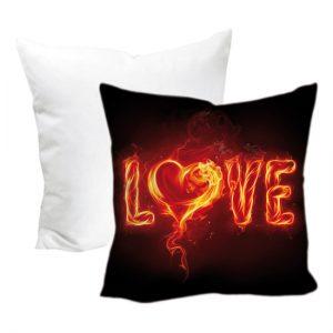 Cuscino San Valentino modello fire love