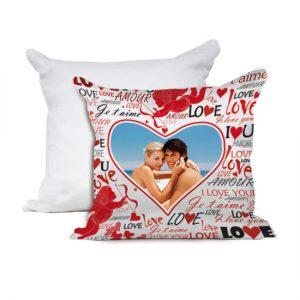 Cuscino San Valentino modello love you