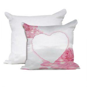 Cuscino San Valentino modello rosa con cuore