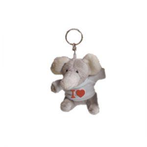 Portachiavi peluche Elefante