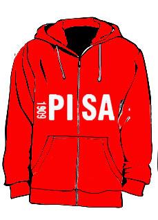 negozio online c2d99 53a6b Felpa Pisa
